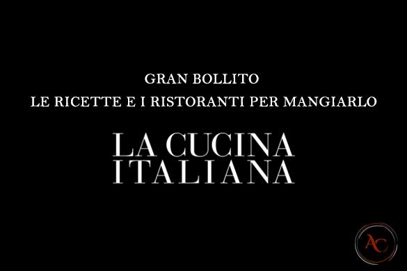 bollito cucina italiana